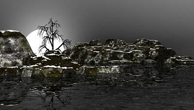 Digital Art - Ice Cold by David Lane