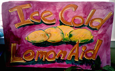 Painting - Ice Cold Lemon Aid  by Don Thibodeaux