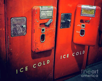 Ice Cold Red  Art Print by Steven Digman