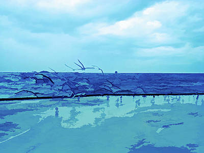 Photograph - Ice Cold Sands Of Time by Aimee L Maher Photography and Art Visit ALMGallerydotcom