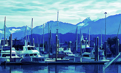 Photograph - Ice Cold Seward Alaska 2 by Aimee L Maher ALM GALLERY