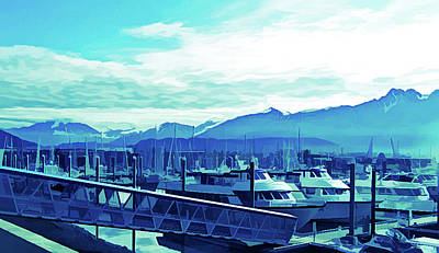 Photograph - Ice Cold Seward Alaska by Aimee L Maher ALM GALLERY