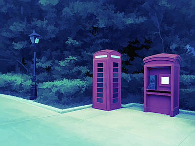 Photograph - Ice Cold Telephone Booth by Aimee L Maher Photography and Art Visit ALMGallerydotcom