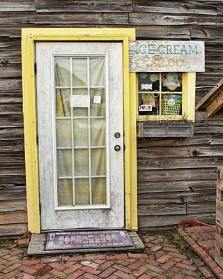 Photograph - Ice Cream At The Sugar Shack by Kristia Adams
