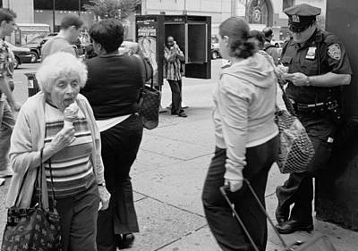 Photograph - Ice Cream Corner by Dave Beckerman