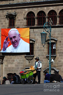 Ice Cream For Pope Francis Art Print by James Brunker
