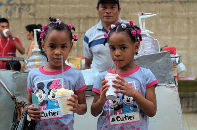 Photograph - Ice Cream For Twin Cuties by Douglas Pike