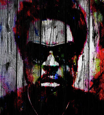 Mixed Media - Ice Cube 3w by Brian Reaves