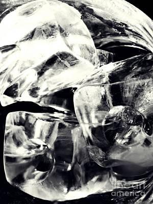 Photograph - Ice Cubes by Sarah Loft