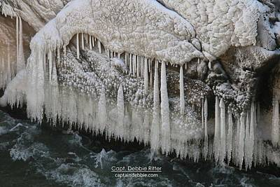 Photograph - Ice Cycles 2329 by Captain Debbie Ritter