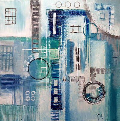 Painting - Ice Factory by Jeremy Aiyadurai