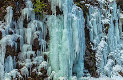 Photograph - Ice-falls 2 by Jonathan Nguyen