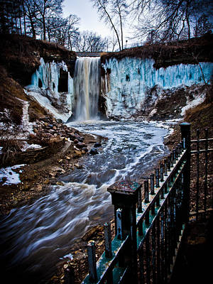 Photograph - Ice Falls by Chris Coward