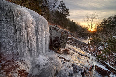 Photograph - Ice Falls by Robert Charity
