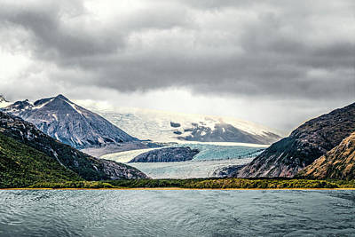 Photograph - Ice Field by Maria Coulson