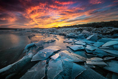 Photograph - Ice Floe by Dave Koch