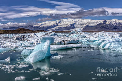 Photograph - Ice Flow One by Rick Bragan