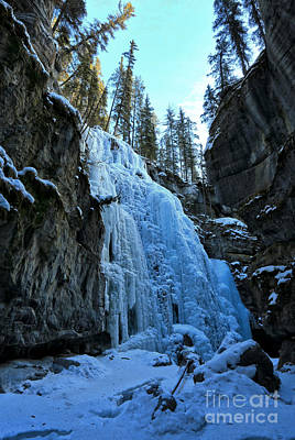 Photograph - Ice Flows At Jasper by Adam Jewell