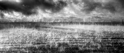 Ice Fog  Art Print