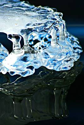 Photograph - Ice Formation 11 by Jeanette Fellows