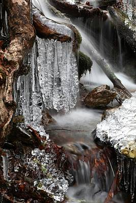 Photograph - Ice Formation I by Carol Montoya
