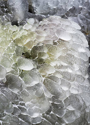 Photograph - Ice Formation by Robert Potts