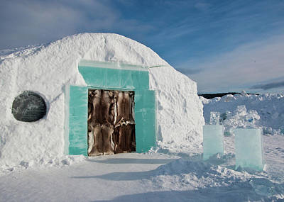 Photograph - Ice Hotel In The North Of Sweden by Tamara Sushko
