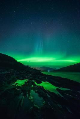 Northern Lights Photograph - Ice Ice Baby by Tor-Ivar Naess