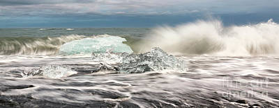 Photograph - Ice In See by Gunnar Orn Arnason