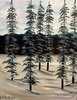 Painting - Ice In The Afternoon by Lisa Aerts