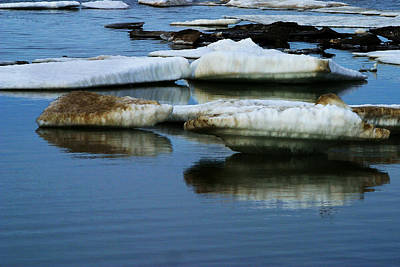 Photograph - Ice In The Arctic by Anthony Jones