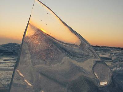 Photograph - ice by Jack Walsh
