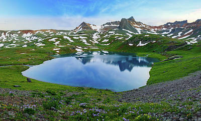 Photograph - Ice Lake Panorama by Johnny Adolphson