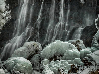 Ice Art Print by Michele James