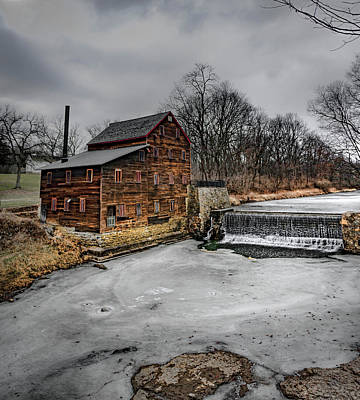 Photograph - Ice Mill by Ray Congrove