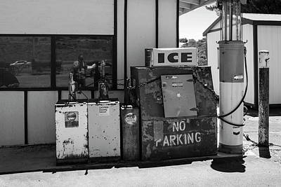 Photograph - Ice - No Parking by Gene Parks