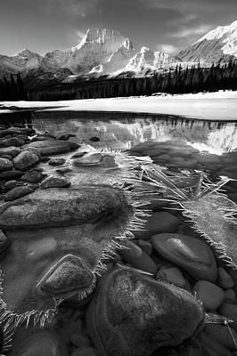 Photograph - Ice On The Athabasca by Dan Jurak