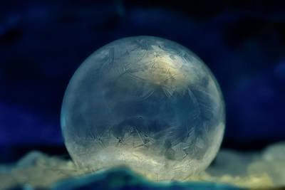 Photograph - Ice Orb by Carol Eade