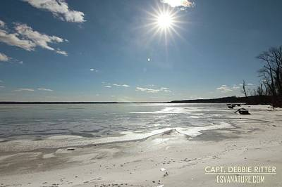Photograph - Ice Pr 3077 by Captain Debbie Ritter