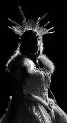 Photograph - Ice Queen by Wes and Dotty Weber