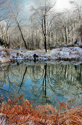 Photograph - Ice Reflections by Kristin Elmquist
