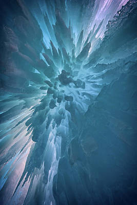 Ice Art Print by Rick Berk