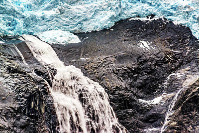 Photograph - Ice, Rock And Water by Maria Coulson