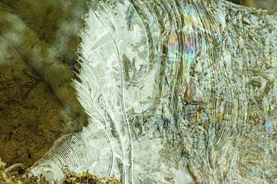 Ice Spikes Photograph - Ice Sculpture by Douglas Barnett