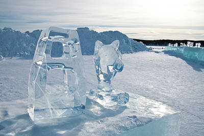 Kiruna Photograph - Ice Sculpture by Tamara Sushko