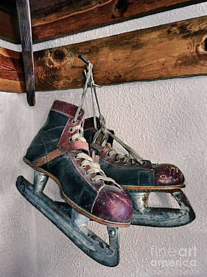 Photograph - Ice Skates by Mark Miller