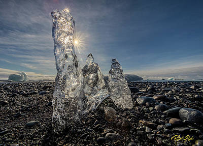 Photograph - Ice Spires by Rikk Flohr