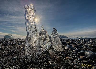 Photograph - Ice Spires by Rikk Flohr