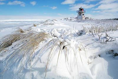 Covehead Photograph - Ice Storm  by Stclair Macaulay