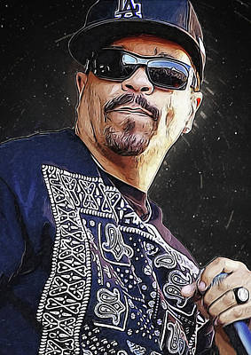 Ice T Art Print